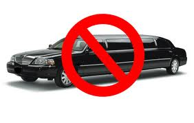 Image result for no limousines sign